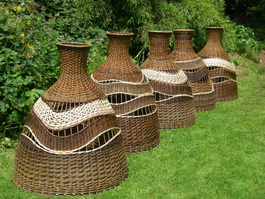 Willow Lampshades Lin Lovekin Basketmaker